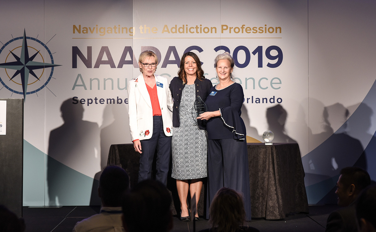NUWAY awarded NAADAC Organizational Achievement Award